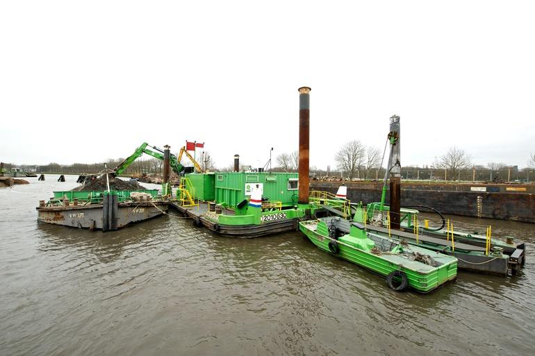 Vergroening binnenvaart = vergroening waterbouwvloot