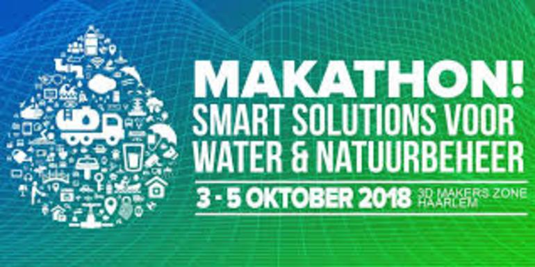Makathon 2018: Smart Solutions voor water & natuurbeheer