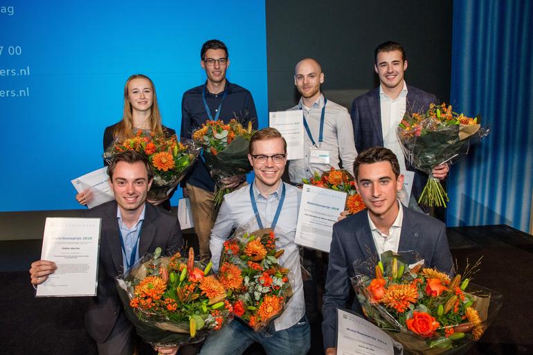 Waterbouwprijs 2018 gewonnen door Niels de Vos (Hogeschool Rotterdam) en Stefan Gerrits (TU Delft)