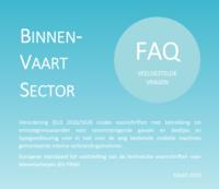 Bijwerking van het document met veelgestelde vragen (FAQ's) over binnenvaartmotoren (editie maart 2019)