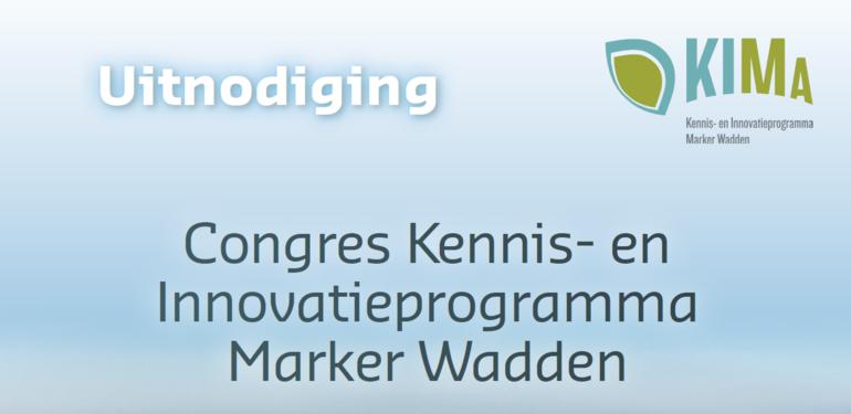 Uitnodiging Kennis- en Innovatieprogramma Marker Wadden op 18 april
