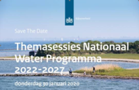 Save The Date   Themasessies Nationaal Water Programma 2022 - 2027