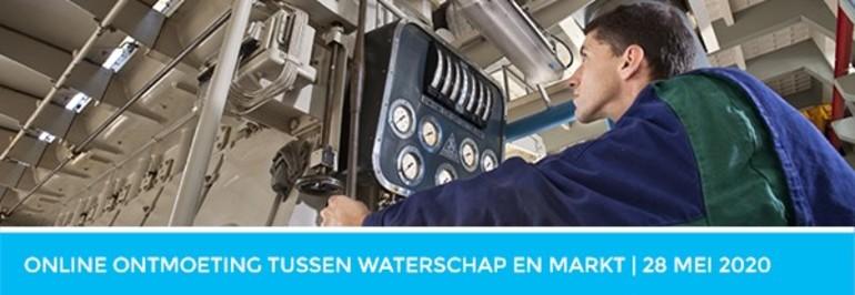 Online ontmoeting tussen waterschap en markt - 28 mei