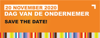 Save the Date: Dag van de Ondernemer – vrijdag 20 november 2020