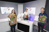 Waterbouwprijs 2020 gewonnen door Tessy Donkers en Thomas van Deursen (Avans Hogeschool) en Nick Overkamp (TU Delft)