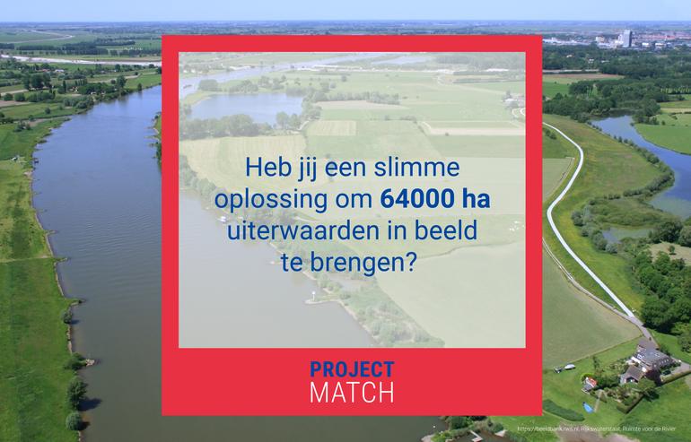 Gezocht partijen voor onderhoud 64.000 hectare Uiterwaarden