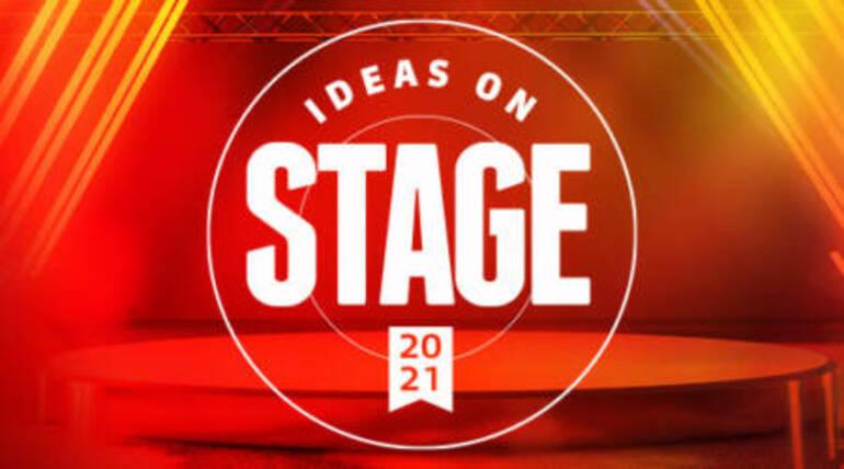 Leerbedrijven in de spotlight -  Ideas on Stage 2021
