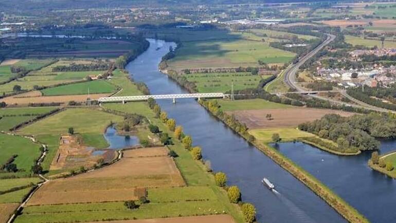 Project 'Ruimte voor de Maas' bij Oeffelt krijgt gestalte
