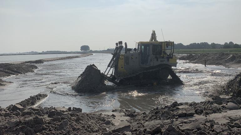 Lezing 'Baggeren, de wondere wereld van waterbouw'